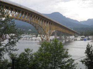 Second Narrows Bridge.